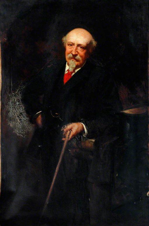 Portrait of an Elderly Gentleman | George Percy Jacomb-Hood | Oil Painting