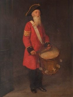 Sergeant Drummer Henry Gribble | George Percy Jacomb-Hood | Oil Painting