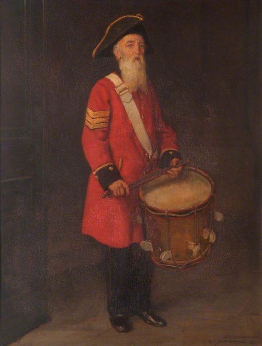 Sergeant Drummer Henry Gribble | George Percy Jacomb-Hood | Oil Painting