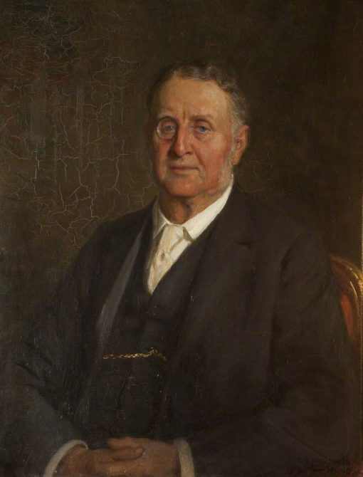 Sir William Hornby | George Percy Jacomb-Hood | Oil Painting