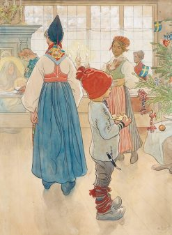 Christmas Eve | Carl Larsson | Oil Painting