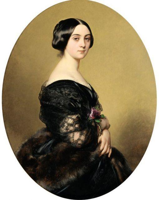 Portrait de la Baronne Henri Hottinguer