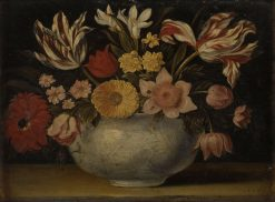 Still Life with Flowers   Jacques Linard   Oil Painting