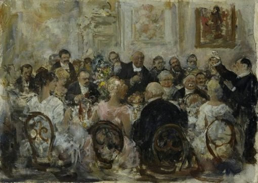 Table Talk | Ernst Juch | Oil Painting