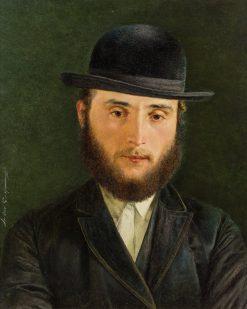 Talmud student   Isidor Kaufmann   Oil Painting