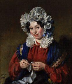 Portrait of a Woman | Philip Corbet | Oil Painting