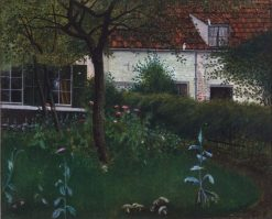 Jardin mysterieux | William Degouve de Nuncques | Oil Painting