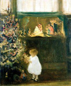 Rosemarys Christmas | Francis Luis Mora | Oil Painting