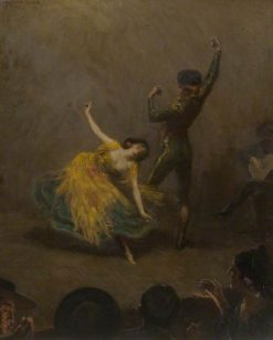 Spanish Dance | George Percy Jacomb-Hood | Oil Painting