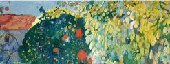 Verdant Landscape   Joaquin Mir  Trinxet   Oil Painting