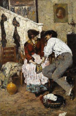 Caldo | Giacomo Favretto | Oil Painting