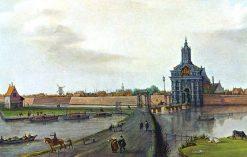 The Haarlemmerpoort in Amsterdam | Hendrick Vroom | Oil Painting