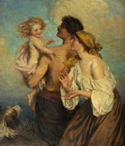 The Family | George Percy Jacomb-Hood | Oil Painting