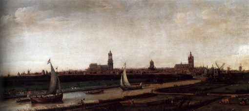 View of Delft from the Northwest | Hendrick Vroom | Oil Painting