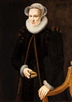 Portrait of a Lady | Adriaen Thomasz. Key | Oil Painting