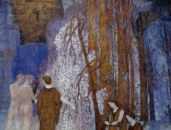 La Barque de l Ideal   Constant Montald   Oil Painting