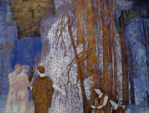 La Barque de l Ideal | Constant Montald | Oil Painting