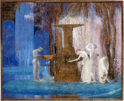The Fountain of Inspiration | Constant Montald | Oil Painting