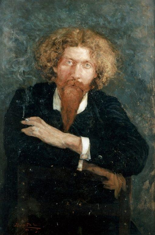 Portrait of Zo dAxa | Constant Montald | Oil Painting