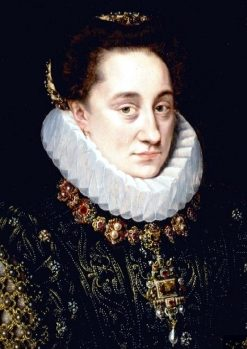 Portrait of Maria of Nassau | Adriaen Thomasz. Key | Oil Painting