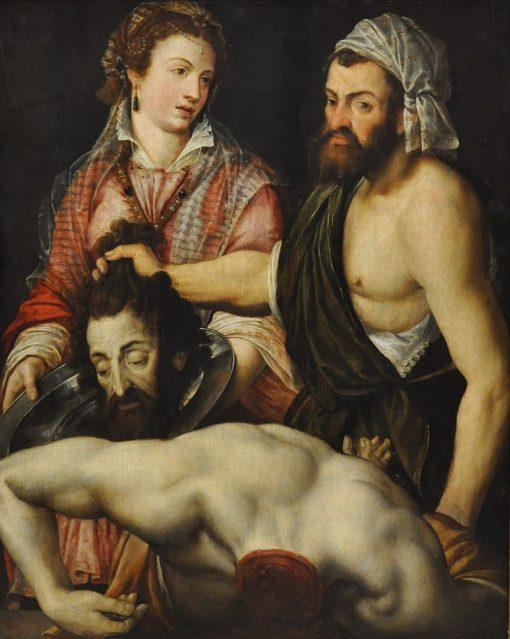 Head of Saint John the Baptist   Adriaen Thomasz. Key   Oil Painting