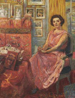 Madame Reine Benard | Edouard Vuillard | Oil Painting