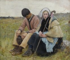 Auvers-sur-Oise | Charles Sprague Pearce | Oil Painting