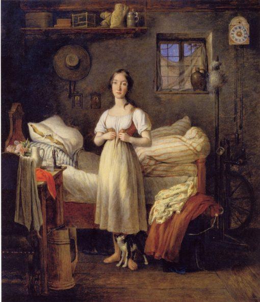 Morning Toilet | Johann Michael Neder | Oil Painting