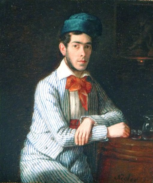 Portrait of a Young Man | Johann Michael Neder | Oil Painting
