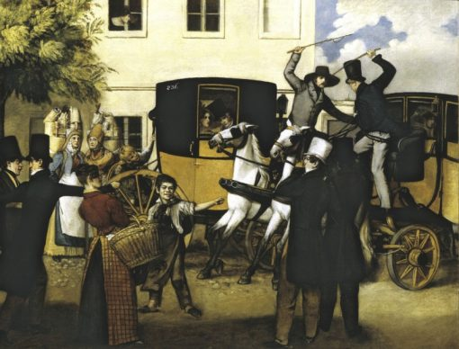 The Carriage Ride | Johann Michael Neder | Oil Painting