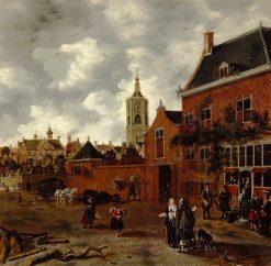 Beest Street in The Hague | Sybrand van Beest | Oil Painting