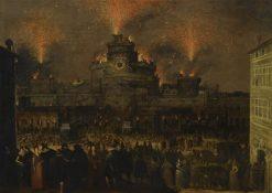 Rome   Louis de Caullery   Oil Painting