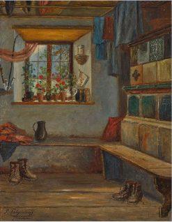 A Window Seat   Paul Felgentreff   Oil Painting