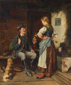 A Tall Tale   Paul Felgentreff   Oil Painting