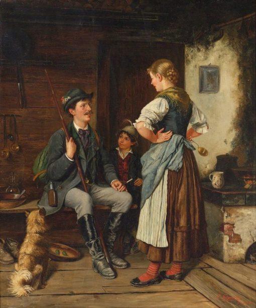 A Tall Tale | Paul Felgentreff | Oil Painting