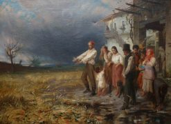 A Bad Harvest | Carlo Ferranti | Oil Painting