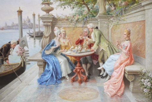 High Society | Carlo Ferranti | Oil Painting