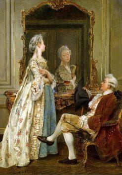 The Courtship | Ignacio de Leon y Escosura | Oil Painting