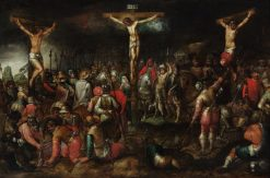 The Crucifixion | Hieronymus Francken I | Oil Painting