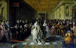 Wedding Ball of the Duc de Joyeuse   Hieronymus Francken I   Oil Painting