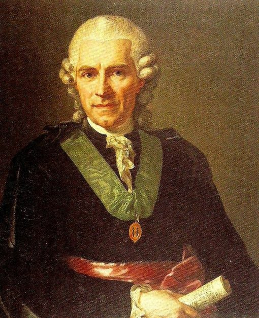 Portrait of Torbern Bergman | Lorens Pasch the Younger | Oil Painting