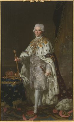 King Gustav III of Sweden | Lorens Pasch the Younger | Oil Painting
