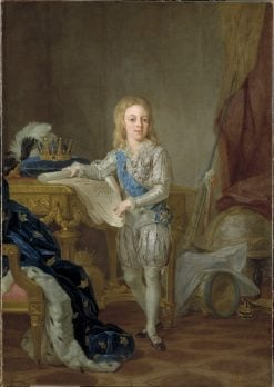 King Gustav IV Adolf | Lorens Pasch the Younger | Oil Painting