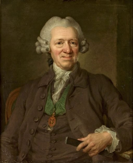 Portrait of Jacob Ramsell | Lorens Pasch the Younger | Oil Painting