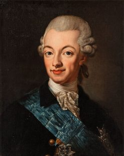 Gustav III of Sweden | Lorens Pasch the Younger | Oil Painting