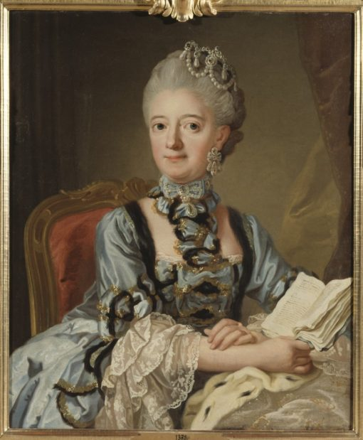 Portrait of Louisa Ulrika of Prussia | Lorens Pasch the Younger | Oil Painting