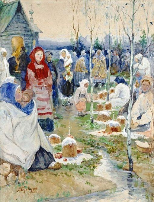 Easter Morning | Alexander Buchkuri | Oil Painting