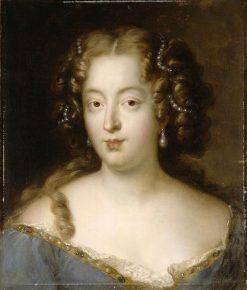 Portrait of Louise de La Baume Le Blanc