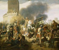 Siege of Paris | Jean-Pierre Franque | Oil Painting