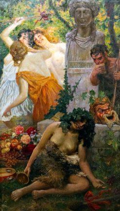 A Bacchanal | Juan Jose Garate y Clavero | Oil Painting